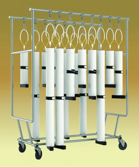 DUAL BAR CART - Click Image to Close